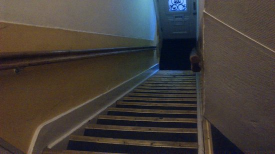 Hotel Amsterdam Inn : attenti alle scale