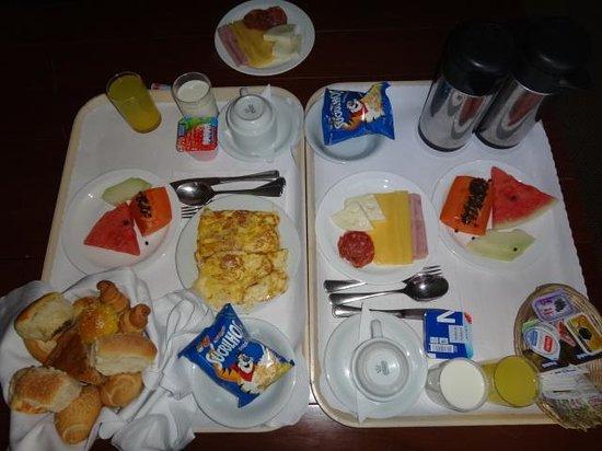 Ouro Minas Palace Hotel : Café da manhã