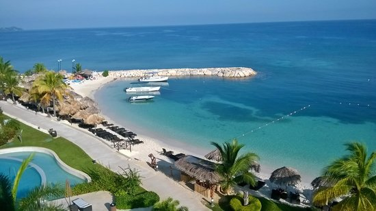 Secrets St. James Montego Bay: View from Room 3542