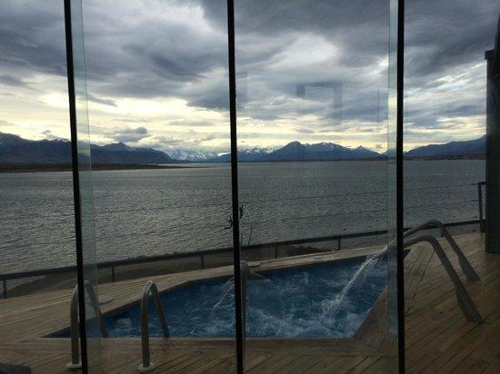 Noi Indigo Patagonia: Schwimmbad (sehr klein, aber es reicht)