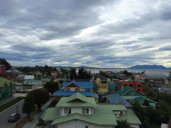 Noi Indigo Patagonia: Aussicht vom Whirlpool