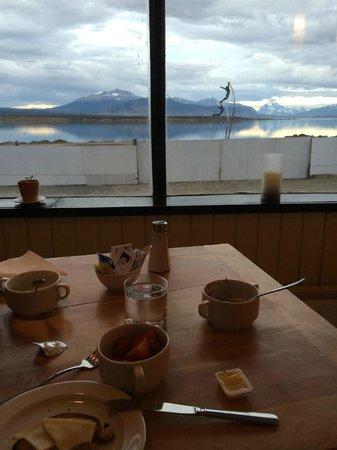 Noi Indigo Patagonia: Frühstück mit Aussicht