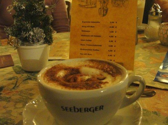 Baumeisterhaus: Pausa para um café