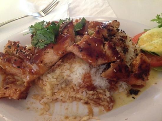 Fire Street Food: lemongrass chicken