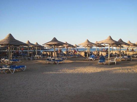 SENTIDO Mamlouk Palace Resort: Fajna plaża