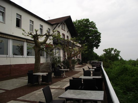 Molkenkur Hotel: Terrace at the back