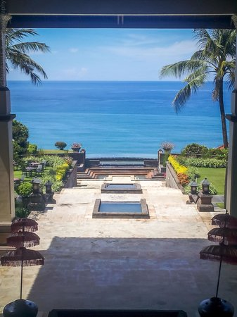 Hilton Bali Resort : view from the lobby