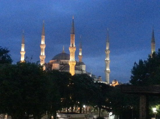 Historic Areas of Istanbul : Moschea blu
