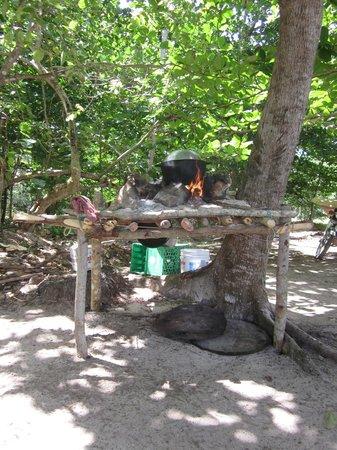 La Playita Beach: creative grill