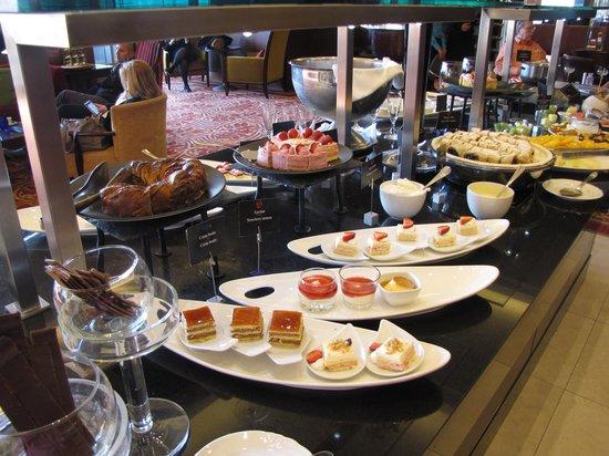Budapest Marriott Hotel: Dessert buffet