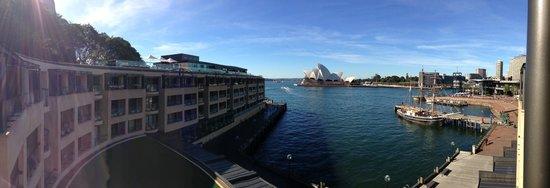 Park Hyatt Sydney: View from our room