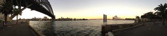 Park Hyatt Sydney: 1-minute walk from hotel under the Sydney bridge