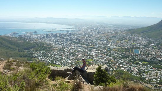 vista de cima da lion's head