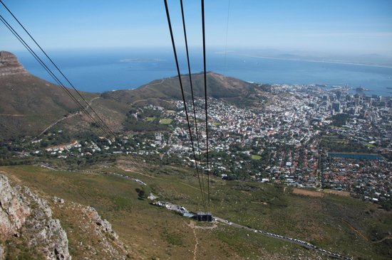 Tafelberg: Worth to walk up ��, very nice view!