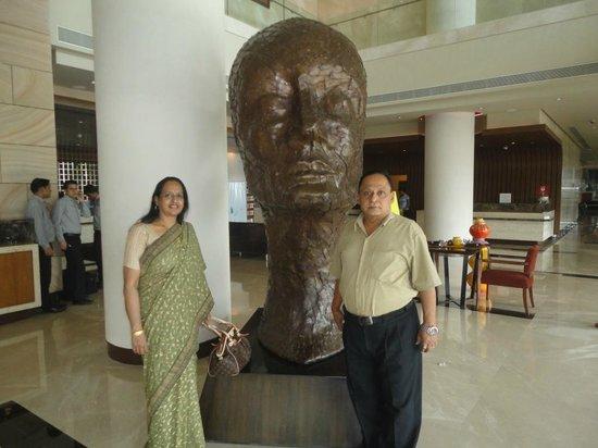 The Westin Pune Koregaon Park: At the Lobby of Westin Pune