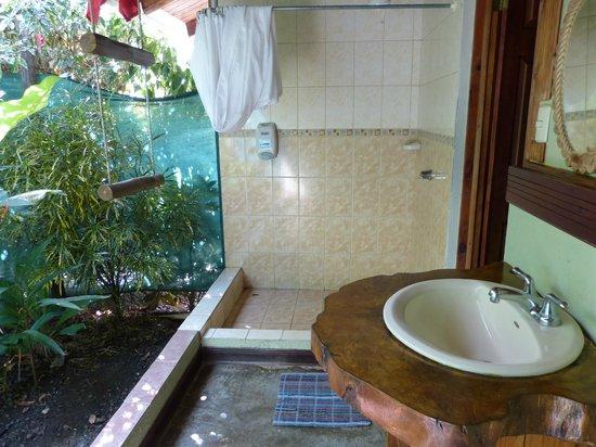 Hotel Cerro Lodge: Badezimmer im Freiem