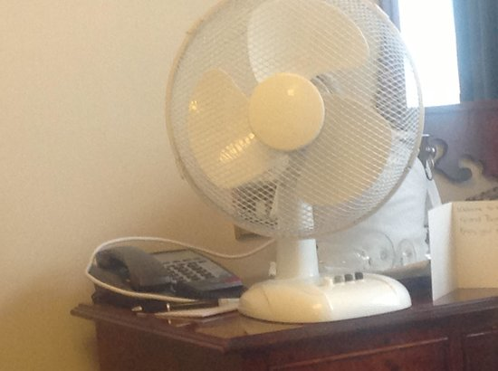 The Grand Brighton: Our air conditioning unit!