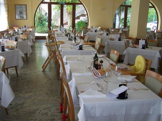 Hotel Gabriella : la salle de restaurant