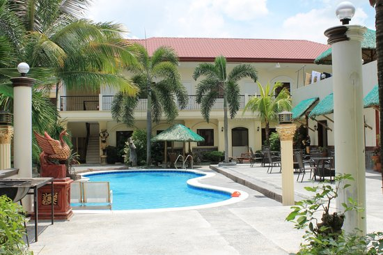 Swimming Pool From An Upstairs Room Picture Of Prince Hotel Angeles City Tripadvisor