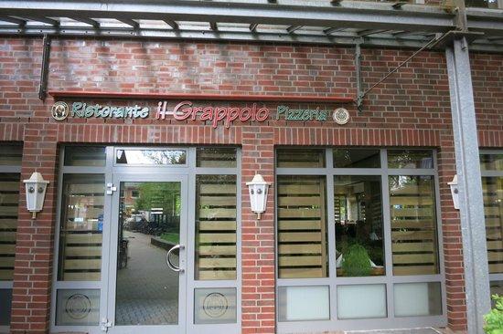 Il Grappolo: Eingang zum Restaurant