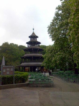 Jardín inglés: Chinese Tower at English Garden