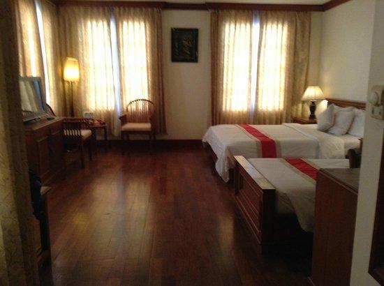 Royal Crown Hotel & Spa: Meu quarto no Royal Crown Hotel - Siem Reap- Camboja