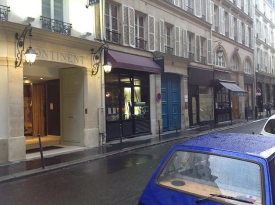 L'Ardoise : Restaurant exterior