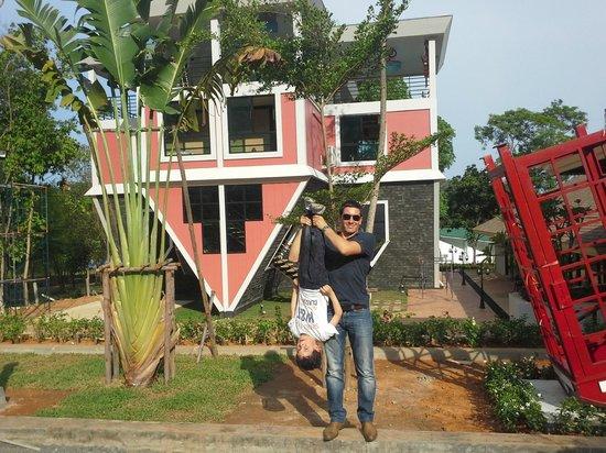 Baan Teelanka - The UpsideDown House of Phuket: Exterior view