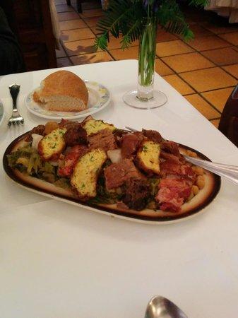 Restaurante del Hotel del Oso : cocidaco