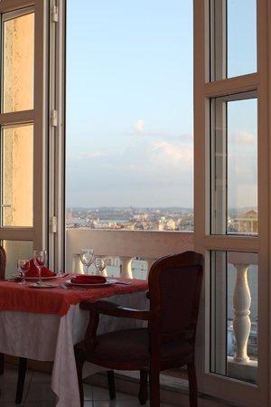 Mercure Sevilla La Habana: Middag på toppvåningen