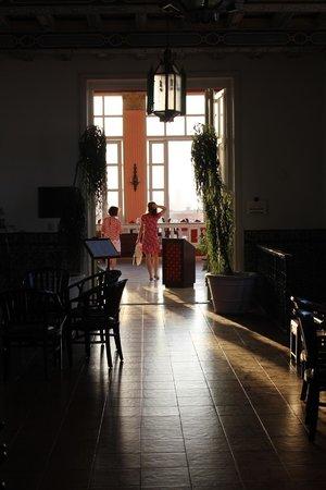 Mercure Sevilla La Habana: Restaurangen på toppvåningen