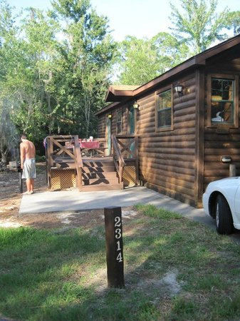 The Campsites at Disney's Fort Wilderness Resort: Where I spent most of my time-bbq-ing for the fam