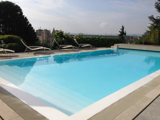 Villa Florentine: Piscine sur Saint-Jean
