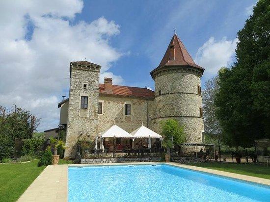 Chateau Chapeau Cornu : giardino esterno
