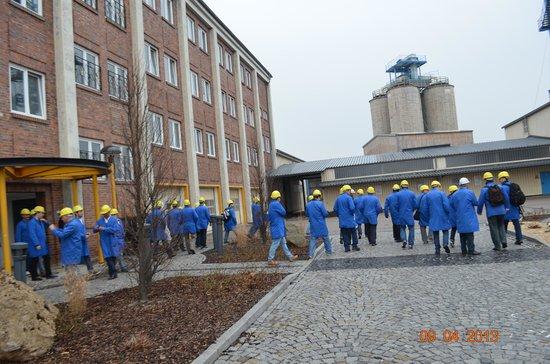 Erlebnisbergwerk-Betreibergesellschaft: A caminho do elevador