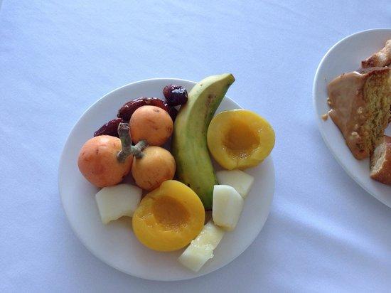 SENTIDO Punta del Mar: Fresh fruit for breakfast...;-)