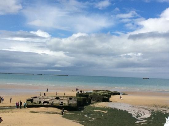 Musee du debarquement : plage debarquement arromanche