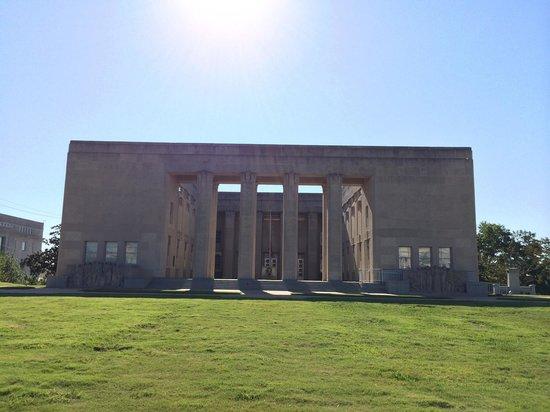 Mississippi War Memorial Building: Facade of the War Memorial.