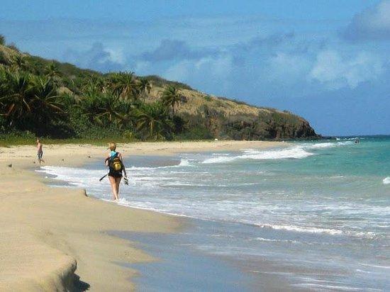 long walk at Zoni beach