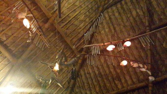 KT's Sinugba Sa Balay: Ceiling of Sinugba sa Balay, Coron, Palawan, Philippines