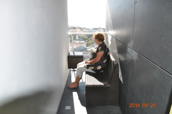 Four Views Baia: Balkongen i vårt rum!