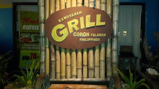 Kawayanan Grill Station: Signage