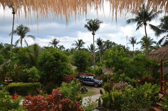 Oasis Koh Chang: Вид с балкона нашего бунгало