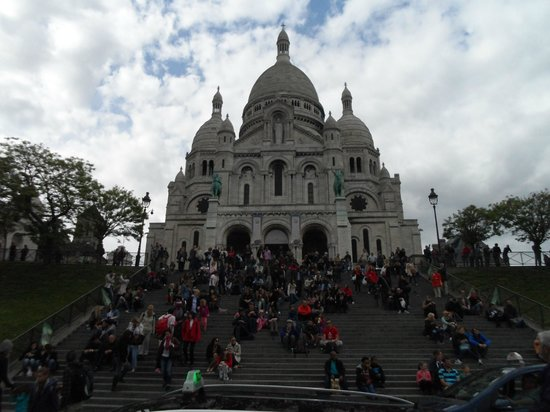 Basilique du Sacré-Cœur de Montmartre : Basílica de Sacré-Coeur