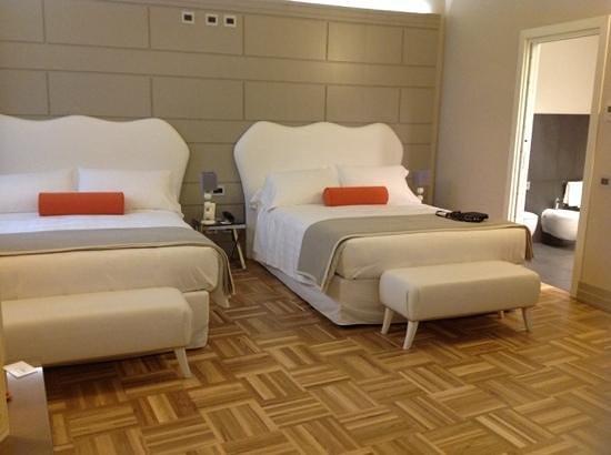 Firenze Number Nine Wellness Hotel: quartos magnificos!