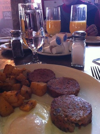 Rotisserie Au Petit Poucet : Assiette