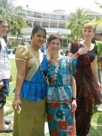Eden Resort & Spa: ik met tharani
