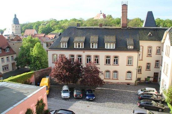 Hotel Graf von Mansfeld: Blick aus dem Fenster
