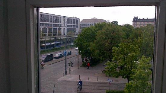 Design Hotel Stadt Rosenheim: View from the window