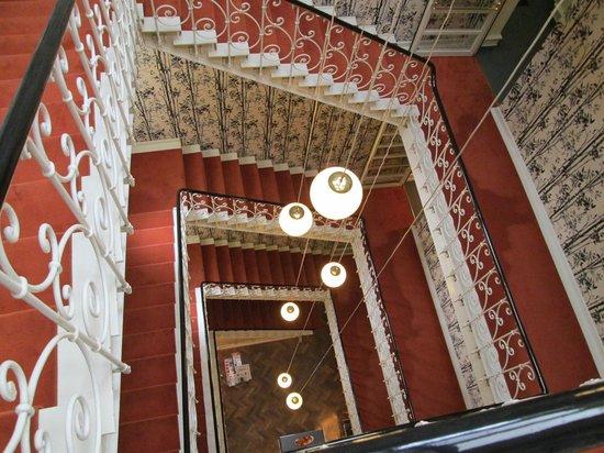 Design Hotel Stadt Rosenheim: view of the Hotel stairwell